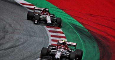 F1   Stiria: Alfa Romeo, poco competitiva e fuori dai punti
