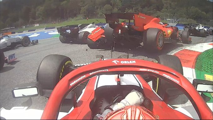 F1 | Vettel – Leclerc, analisi dell'Incidente nel GP di Stiria