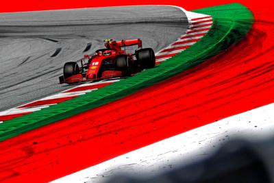 Charles Leclerc, Ferrari, Austria, 2020