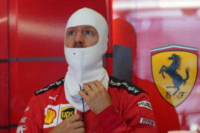 Sebastian Vettel, Ferrari, Austria, 2020