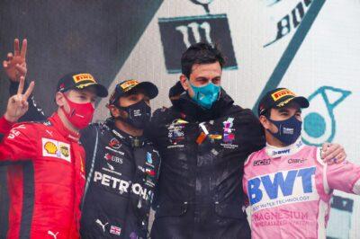 F1 Turchia podio