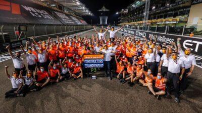 McLaren F1 Abu Dhabi