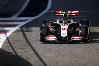 Mick Schumacher test Abu Dhabi