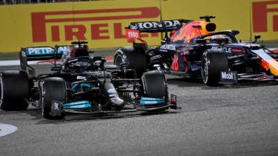 Hamilton vs Verstappen, Bahrain, 2021