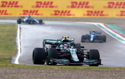 Vettel Imola 2021