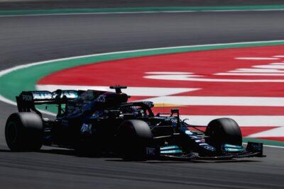 Hamilton F1 Spagna
