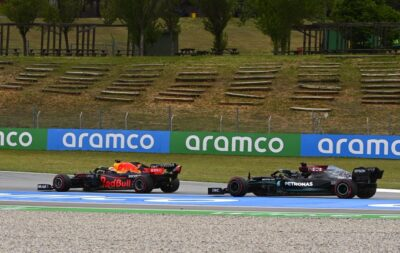 Hamilton Verstappen Spagna