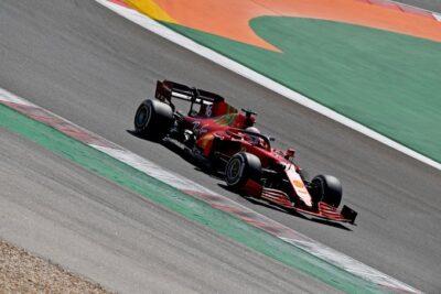Ferrari Portimao Leclerc